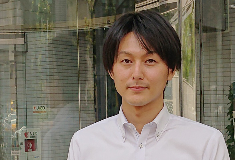 東京事務所 福岡 晃(2012年入社)